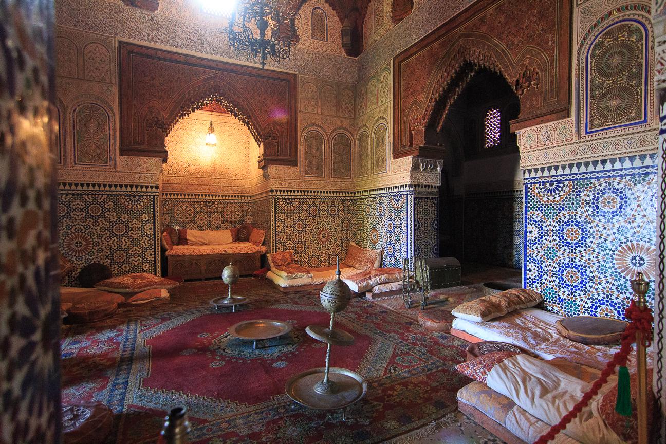 Estancia del Museo Dar Jamai en Meknes