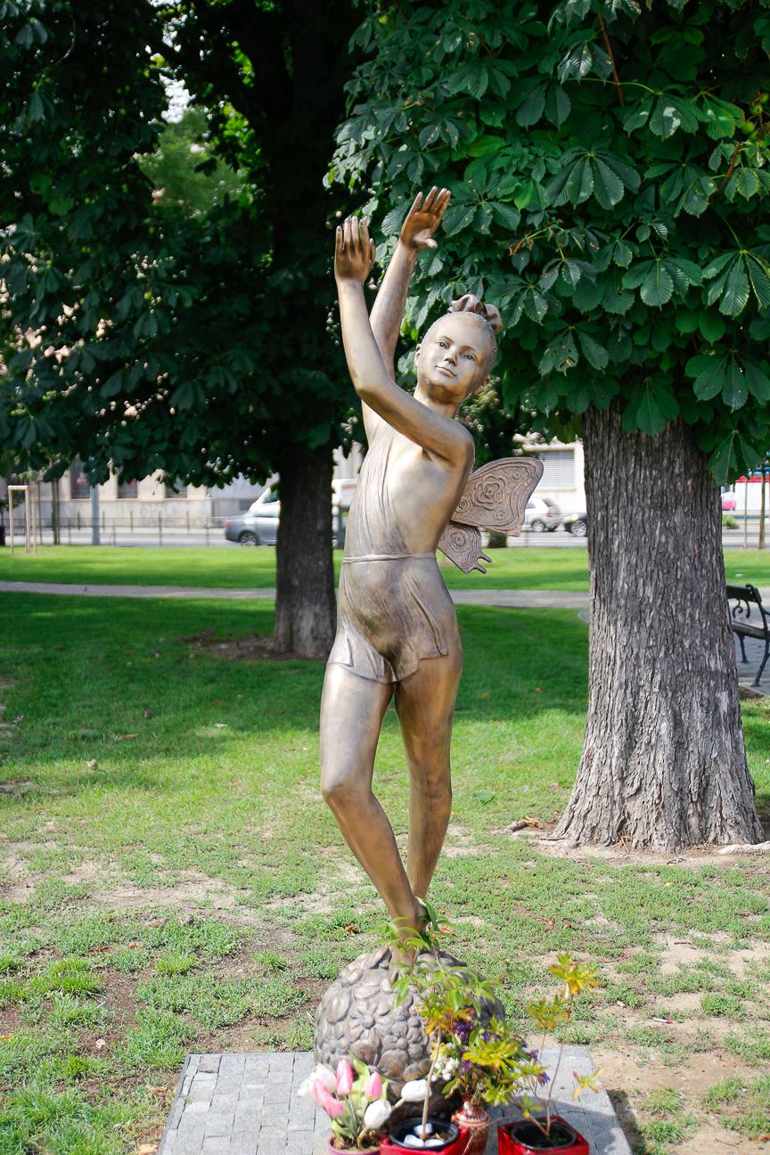 Estatua campanilla Bratislava