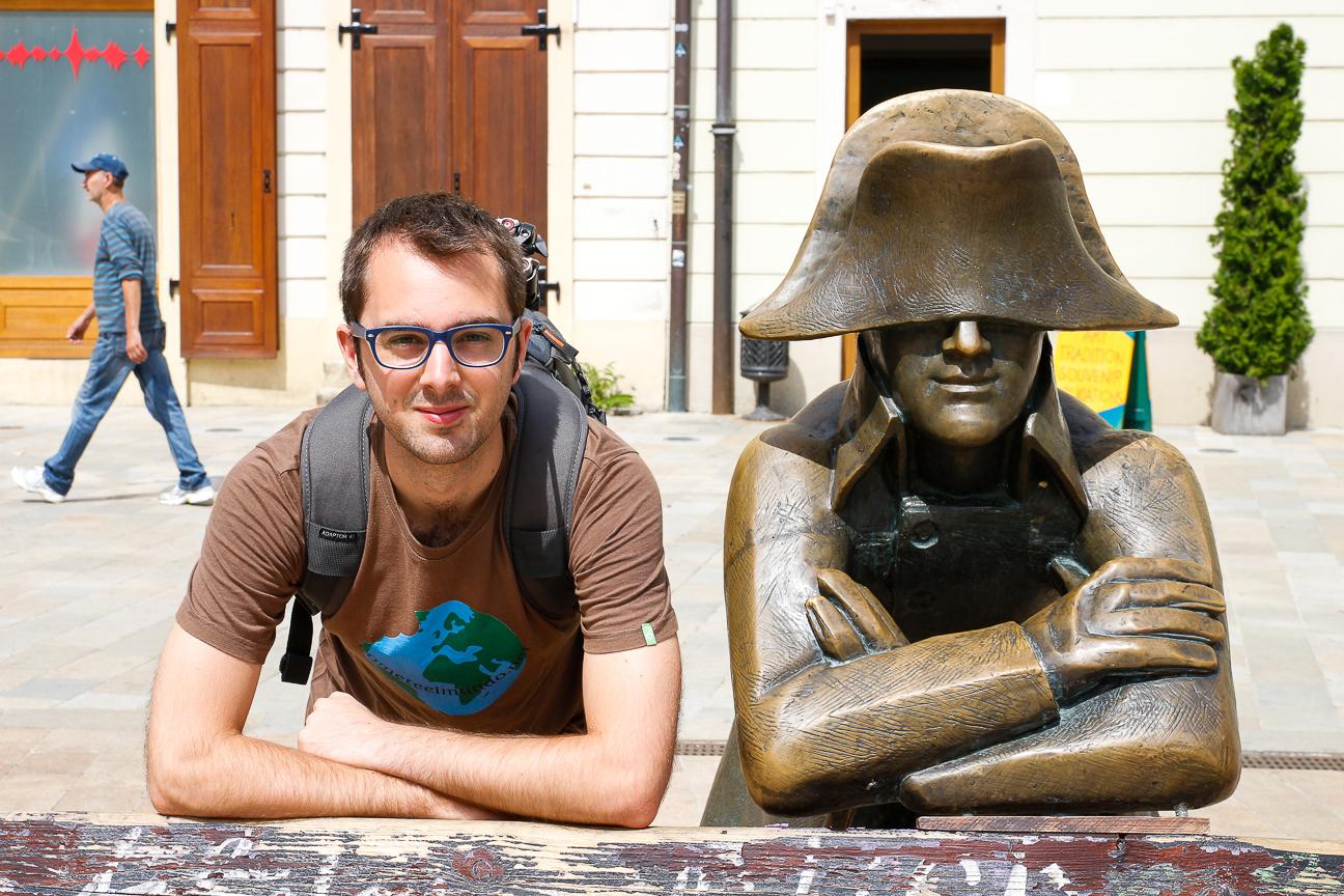 Estatua Napoleon Bratislava