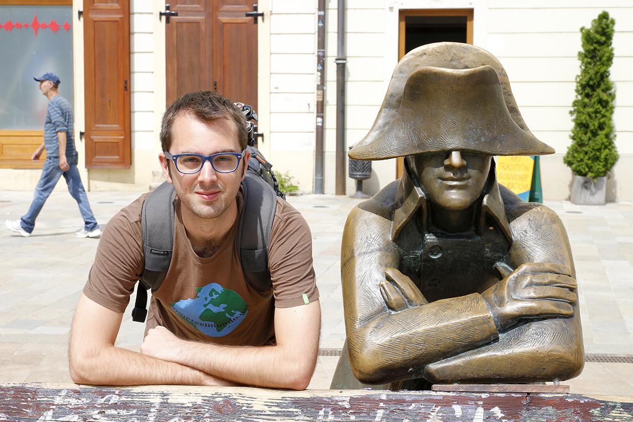 estatua de Napoleon en Bratislava