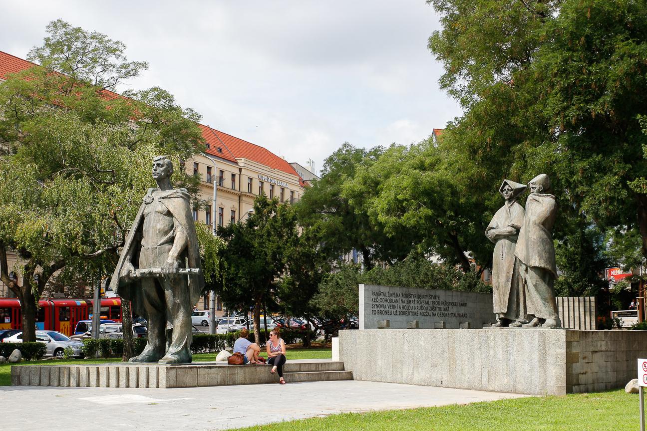 Estatuas epoca comunista Bratislava