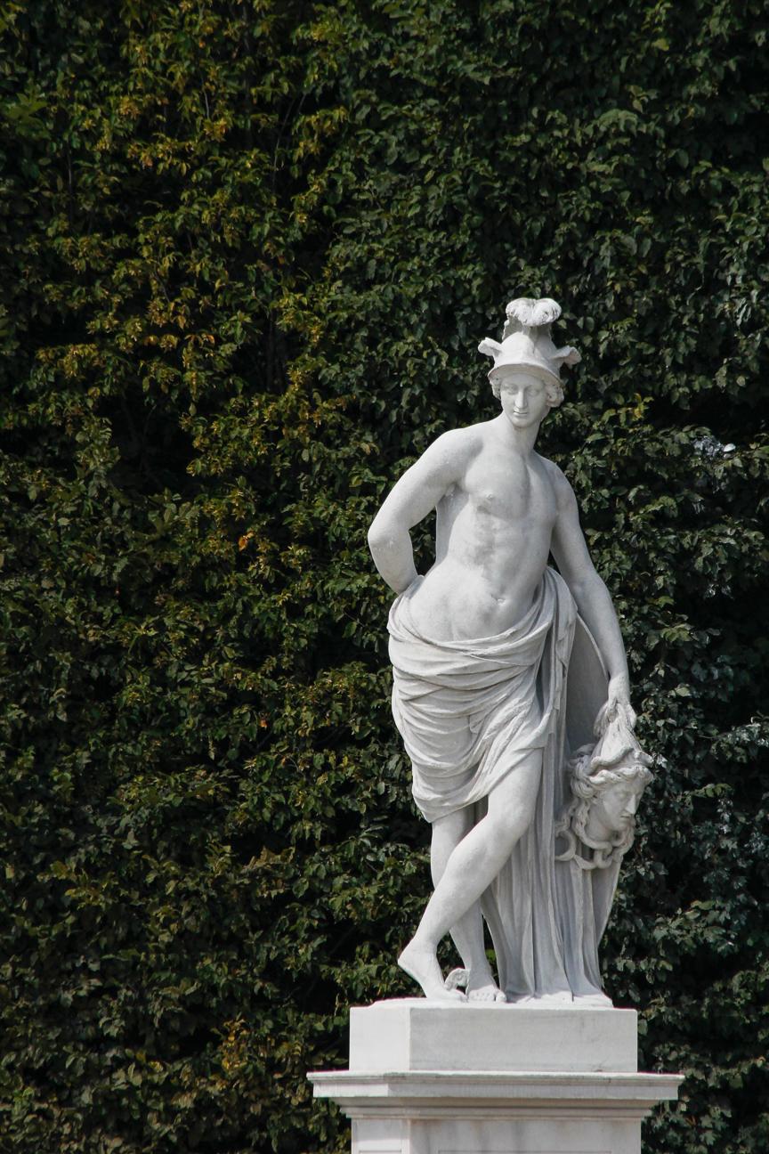 Estatuas jardines Schonbrunn