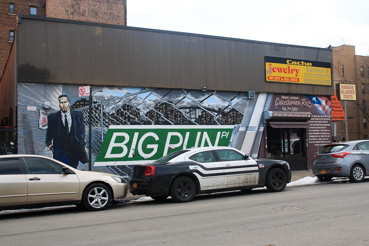 Excursion Contrastes Nueva York - Big Pun en el Bronx