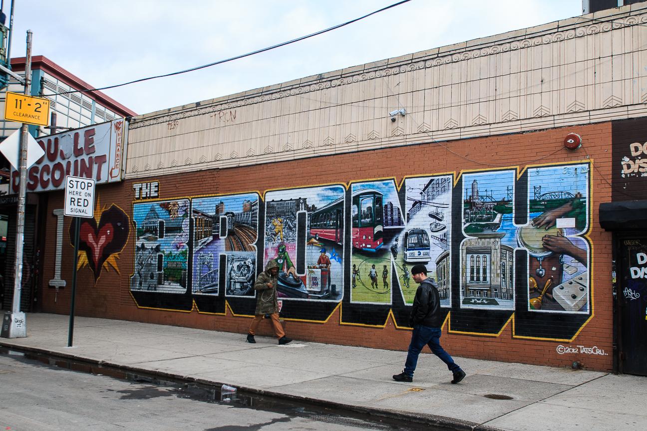 Excursion Contrastes Nueva York - I love the Bronx