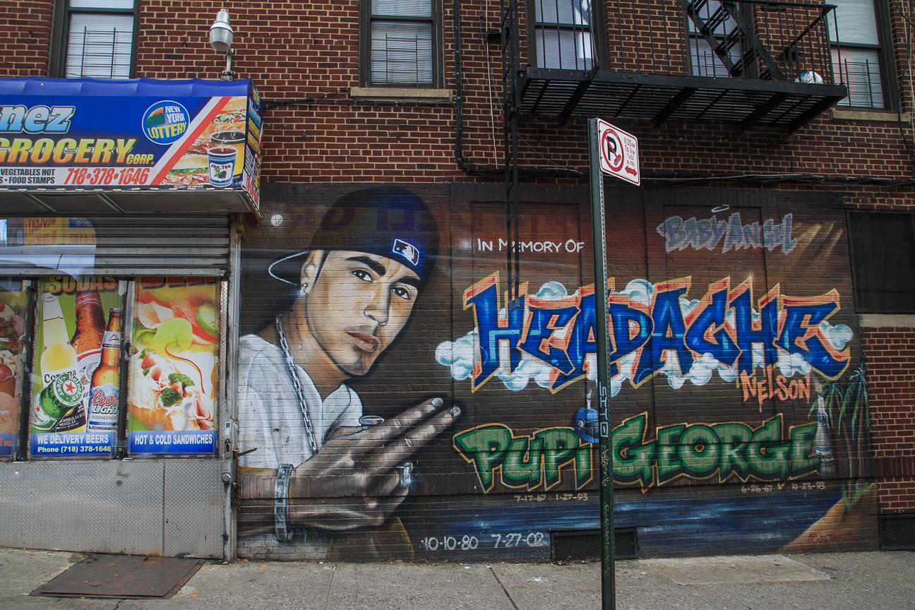 Excursion Contrastes Nueva York - Pupi George graffitti