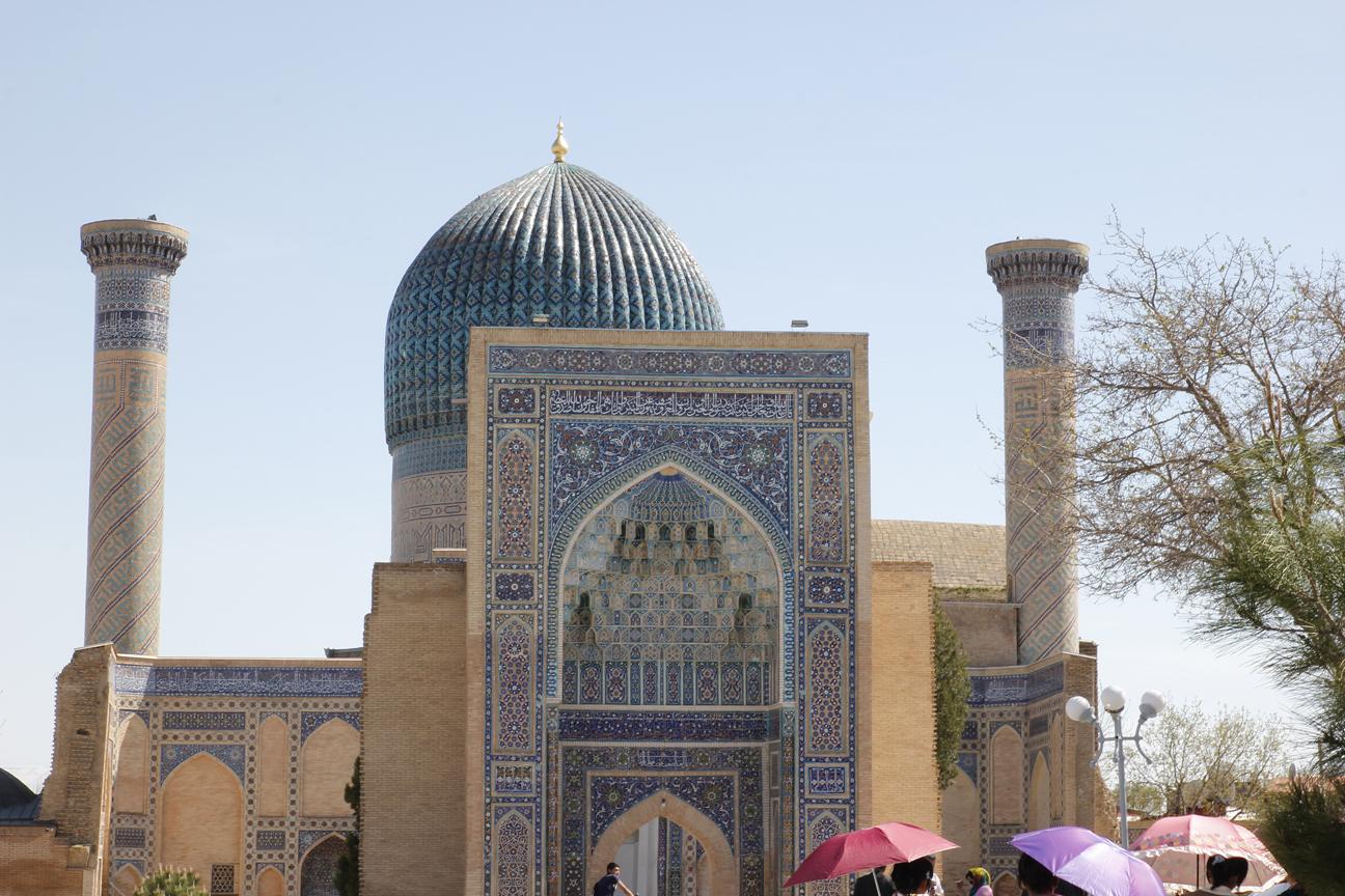Exterior del Mausoleo de Gur-e Amir