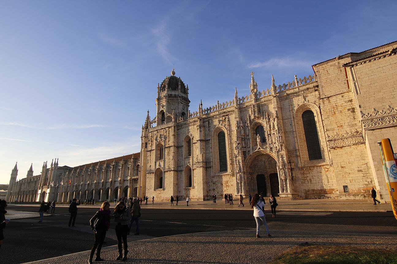 Exterior del Monasterio de los Jeronimos