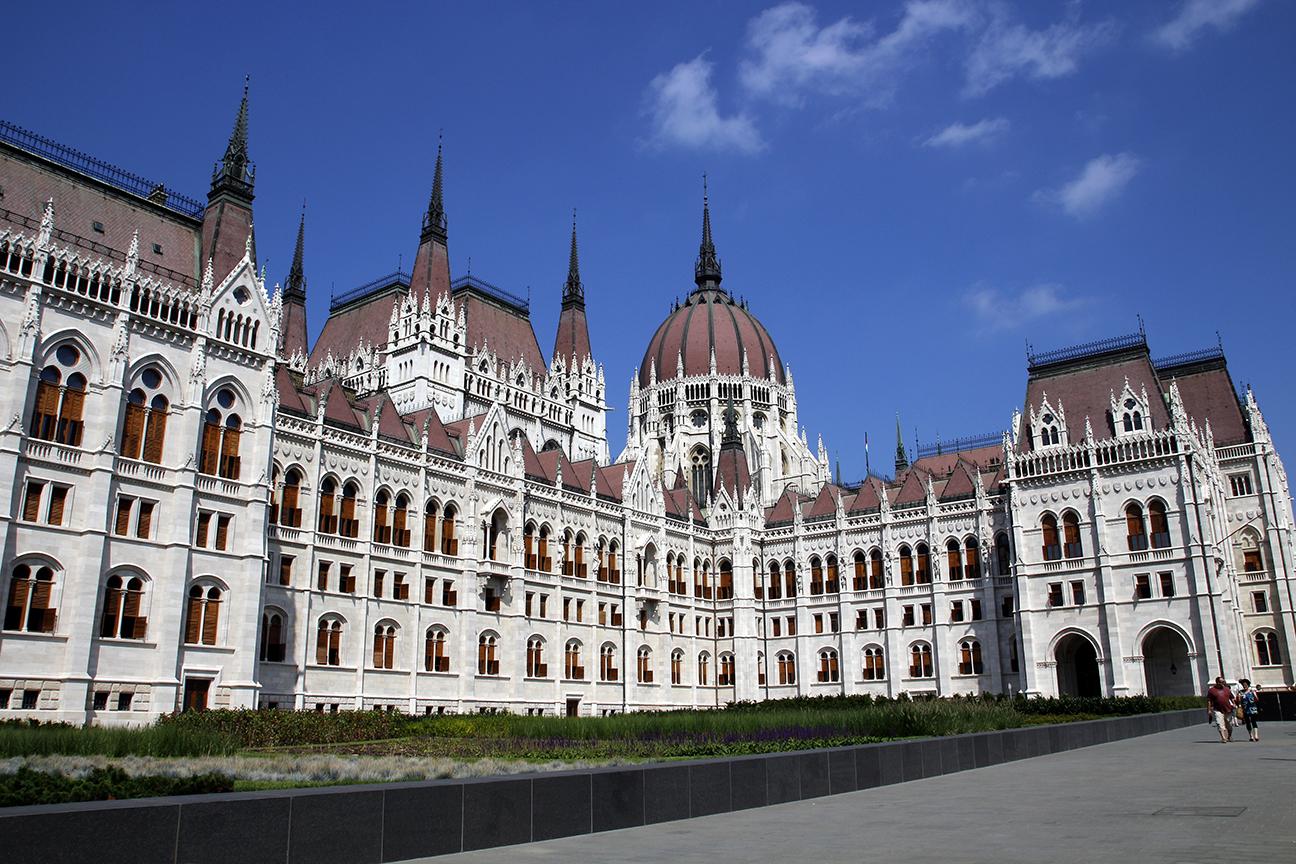 Exterior del Parlamento de Budapest