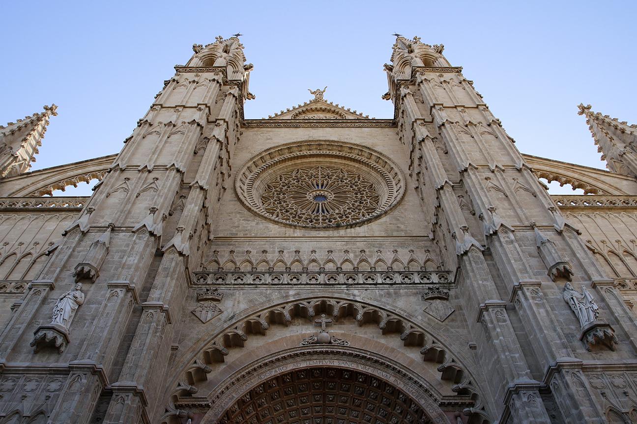 Fachada Catedral de Palma de Mallorca