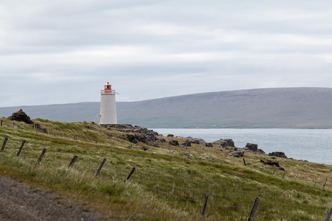 Faros por toda Islandia