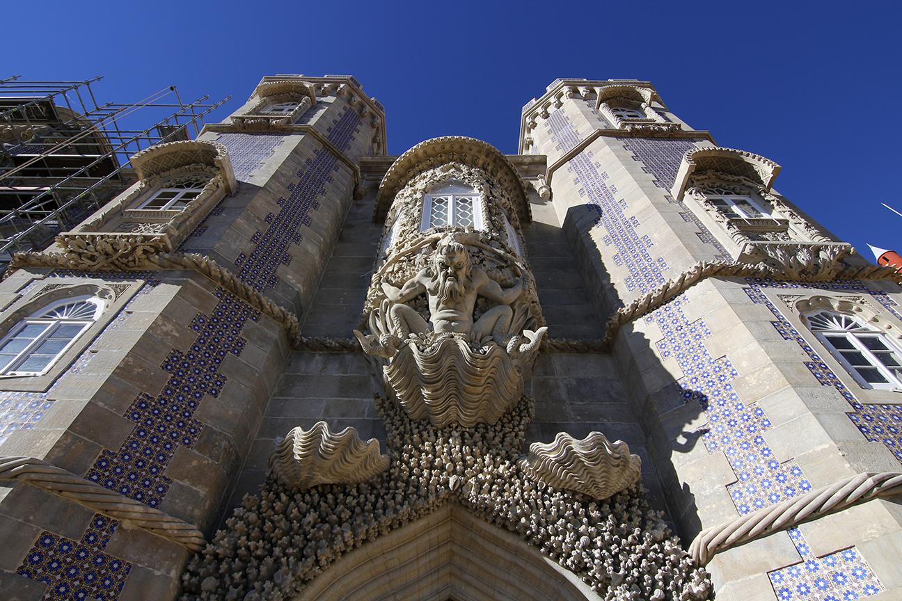 Figura del Triton en el Palacio da Pena
