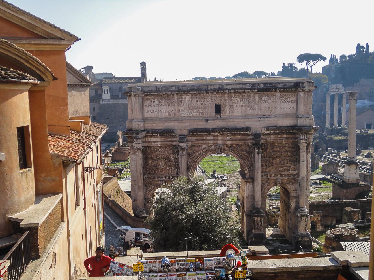 Foro romano entrada