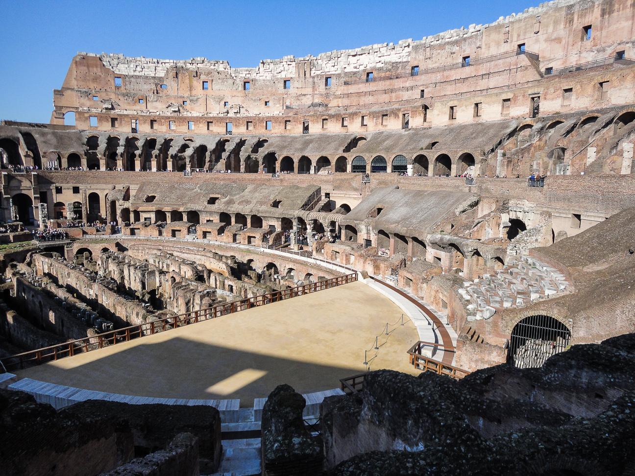 Foro romano y coliseo