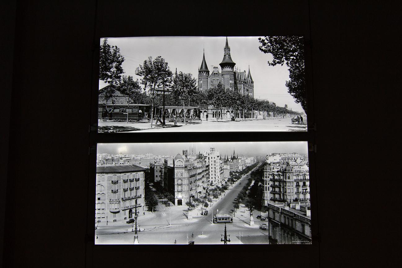 Foto epoca diagonal de Barcelona