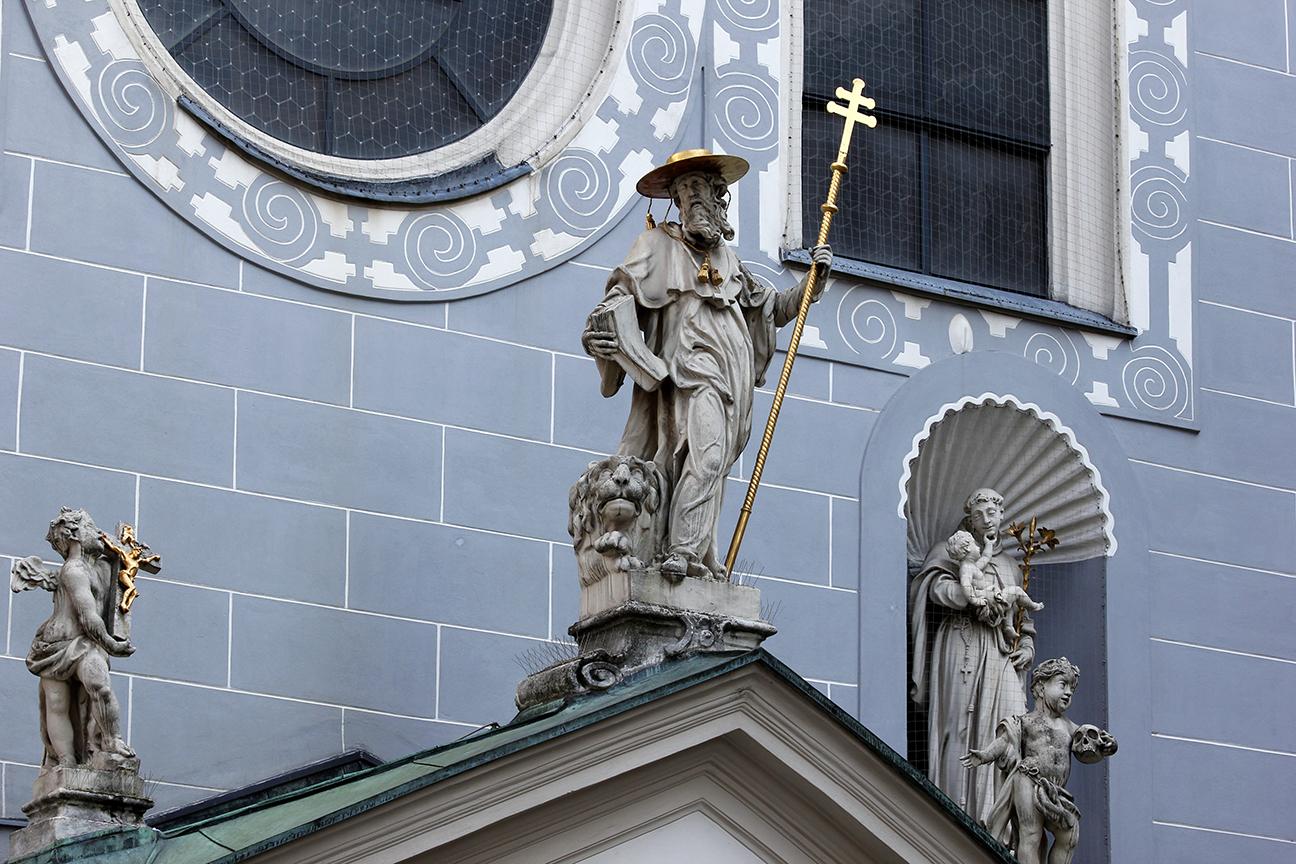 Franziskanerkirche - Iglesia Franciscana en Viena