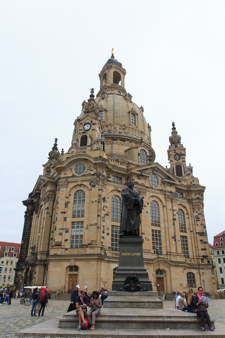 Frauenkirche turismo Dresde
