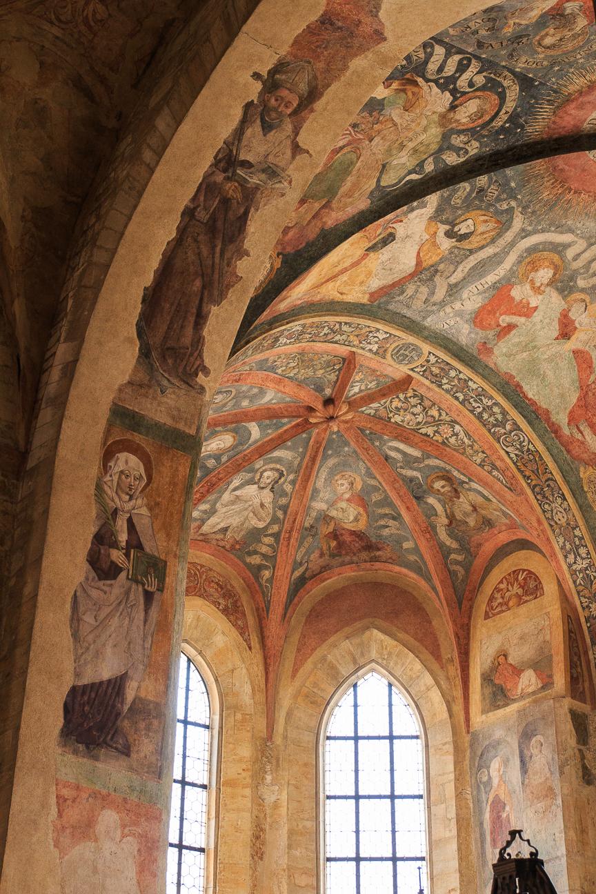 Frescos de la Basilica de San Jorge