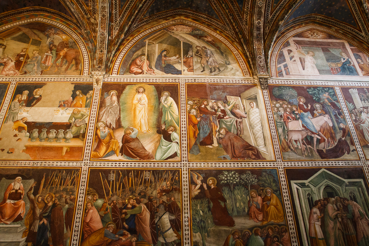 Frescos duomo de San Gimignano