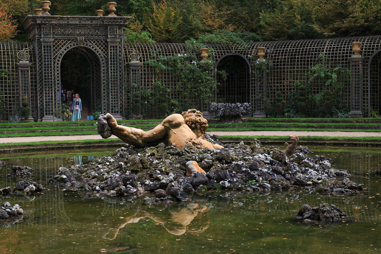 Fuentes jardines de Versalles