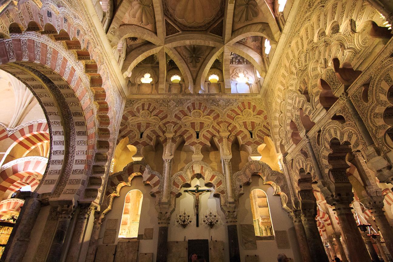 Fusion de religiones en la mezquita catedral de Cordoba