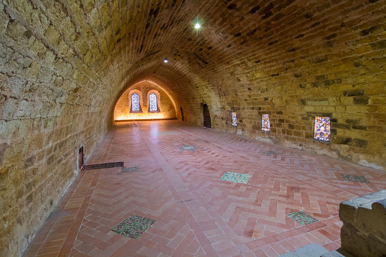 Habitaciones Abadia de Fontfroide