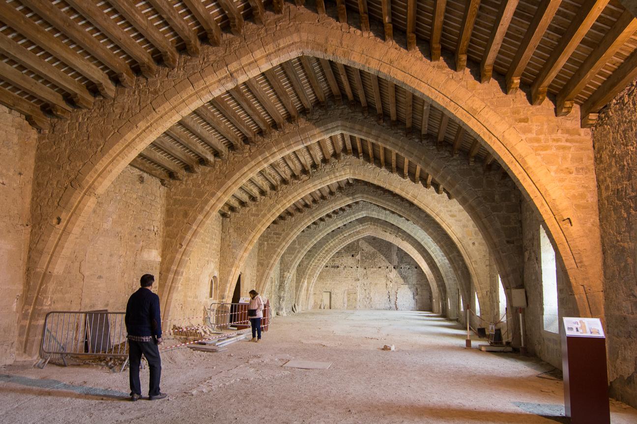 Habitaciones de la abadia de Lagrasse