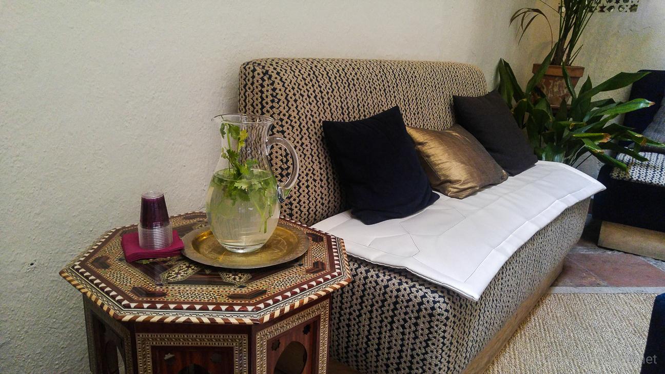 Hammam Al Andalus - Limonada en la sala de espera