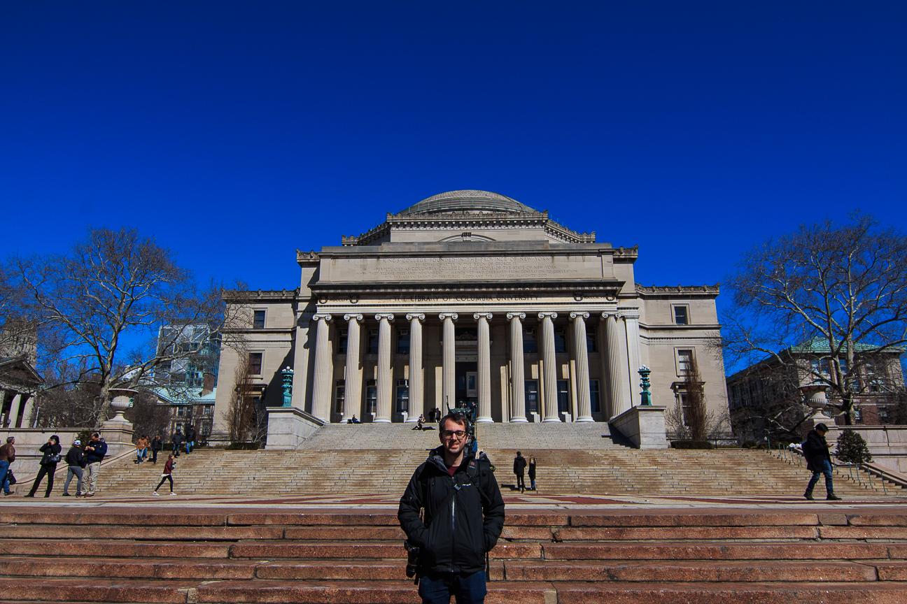 Harlem universidad de Columbia Nueva York