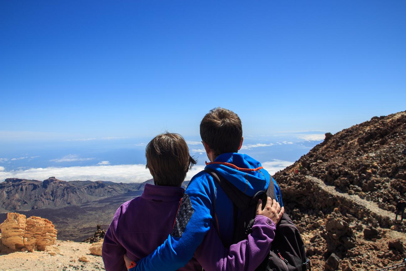 Hay que subir al Teide solo por este momento
