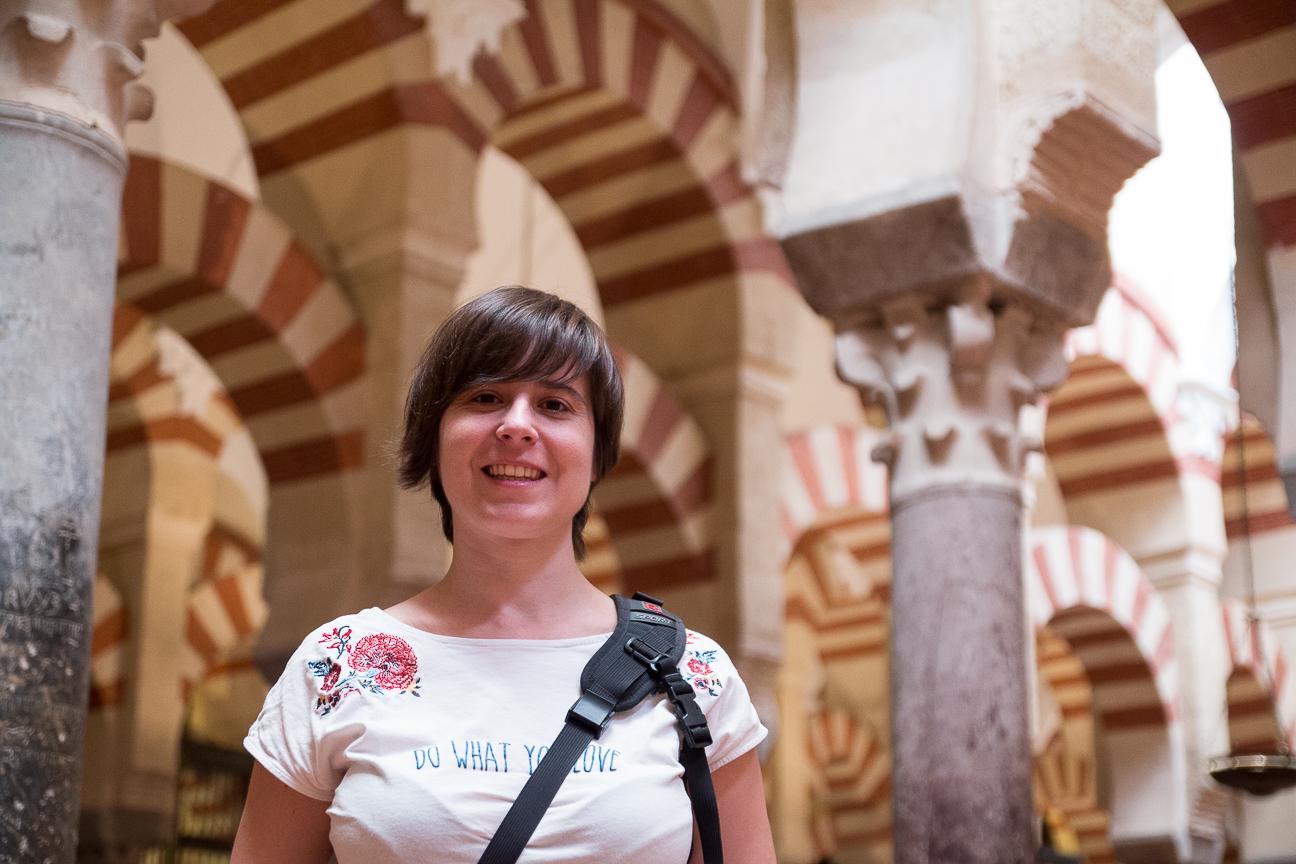 Henar en la mezquita de Cordoba