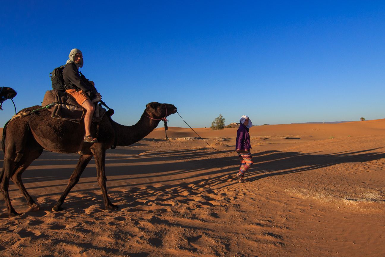 Henar convertida en guia berber
