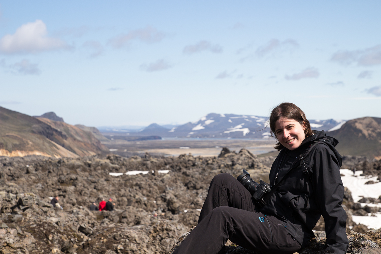 Campo de lava en Landmannalaugar