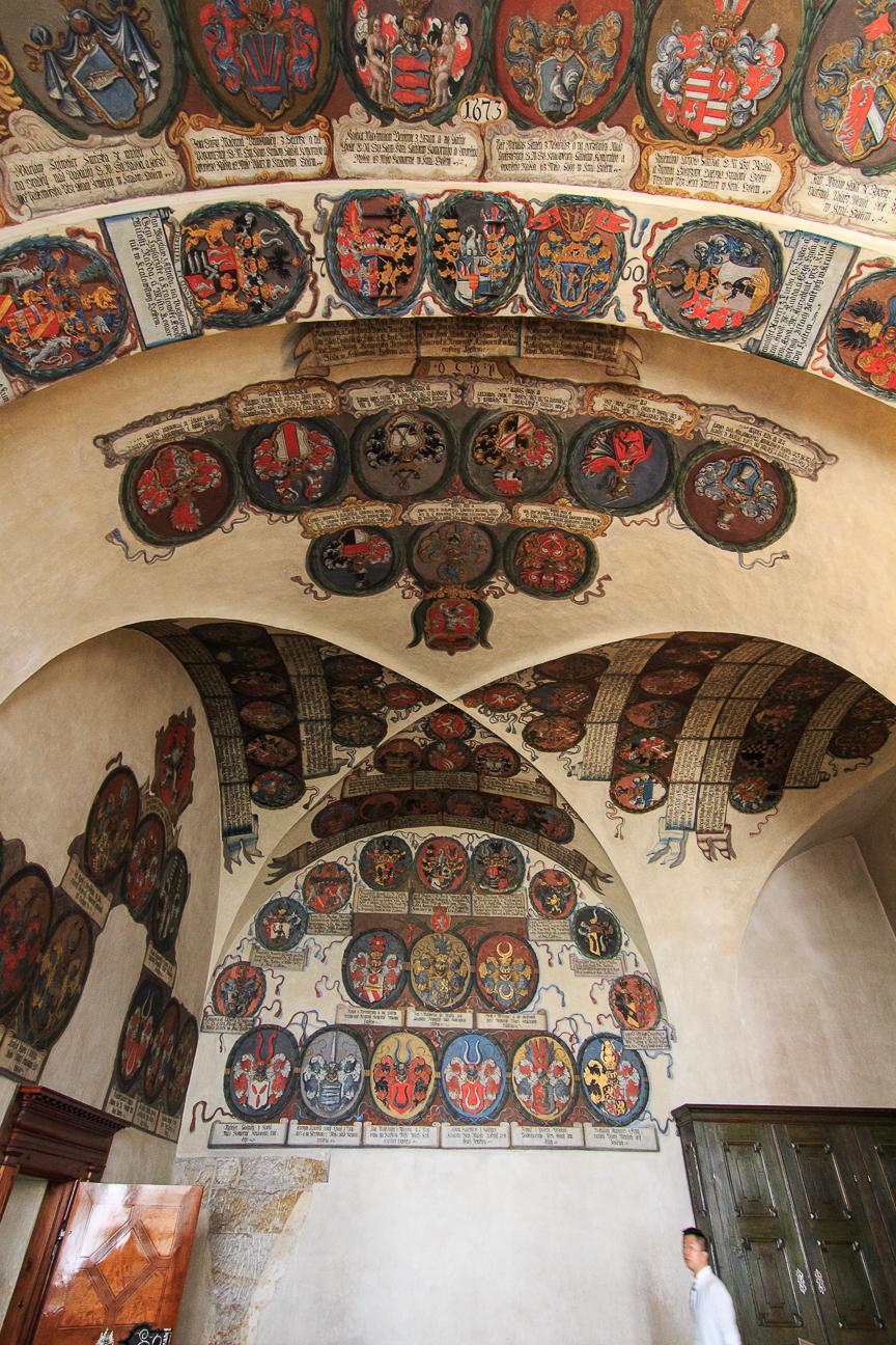 Heraldica castillo de Praga