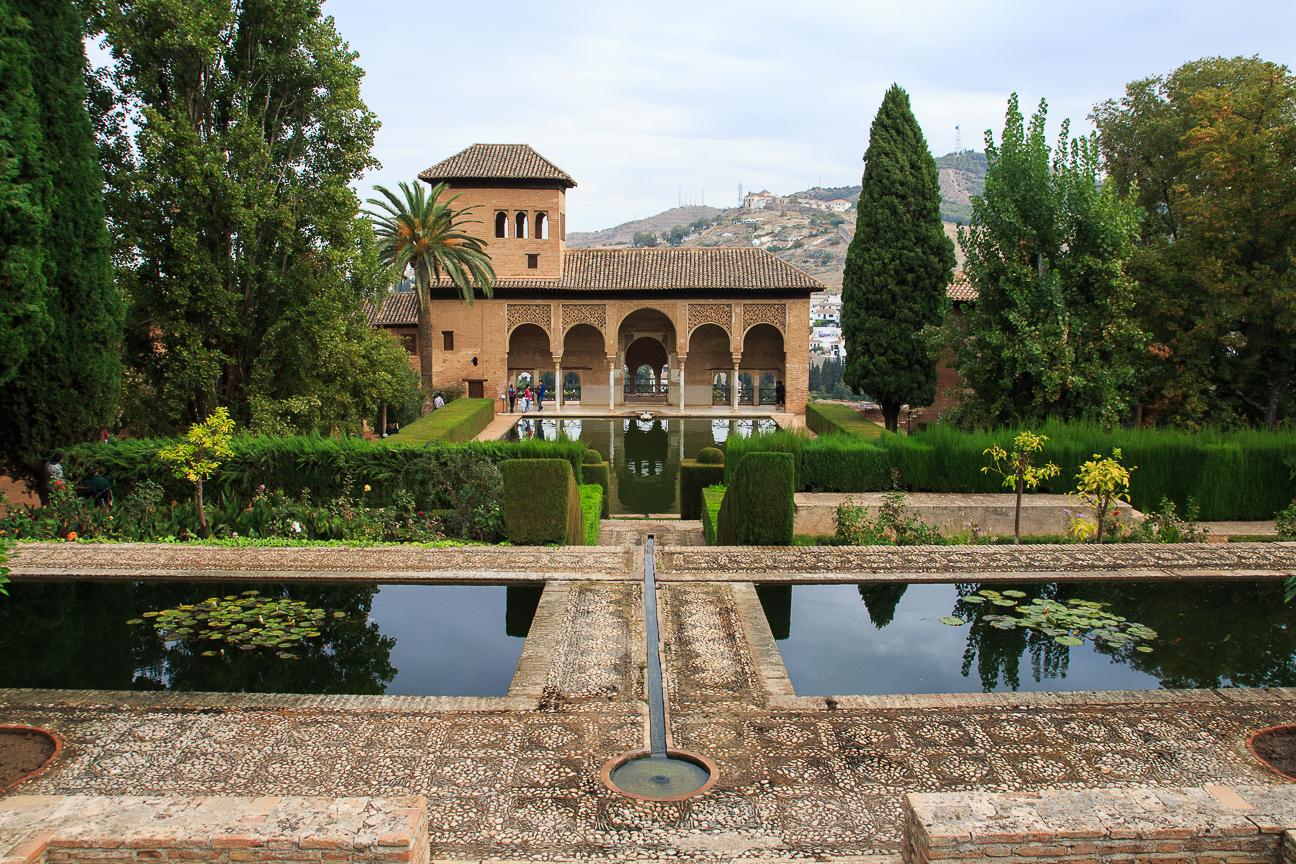 Hermosos jardines de la Alhambra