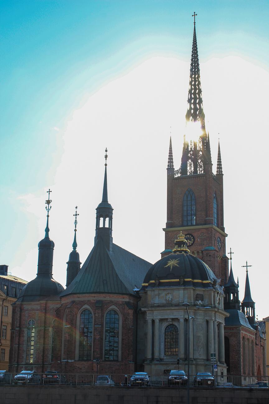 Iglesia de Riddarholmen Estocolmo