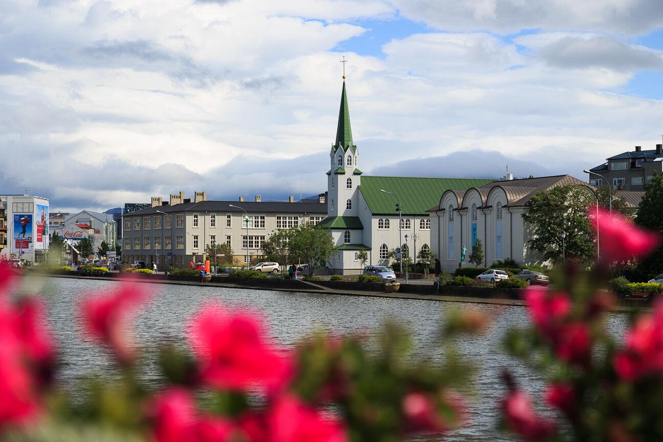 Iglesia Domkirkjan en Reikiavik