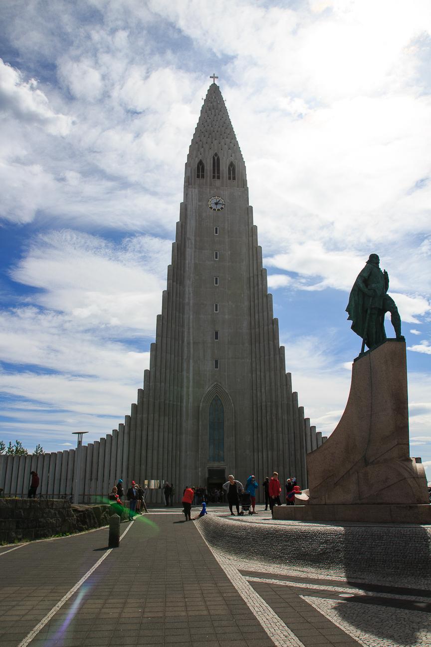 Iglesia Hallgrimskirkja Reikiavik