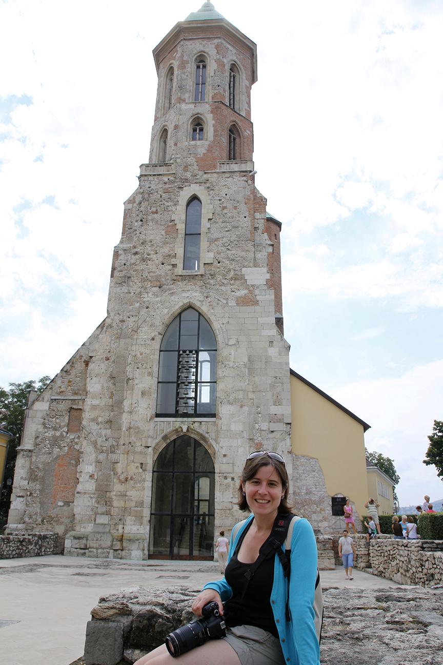 Iglesia de Maria Magdalena en Budapest