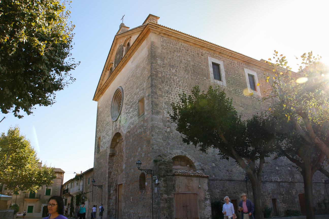 Iglesia de Valldemossa