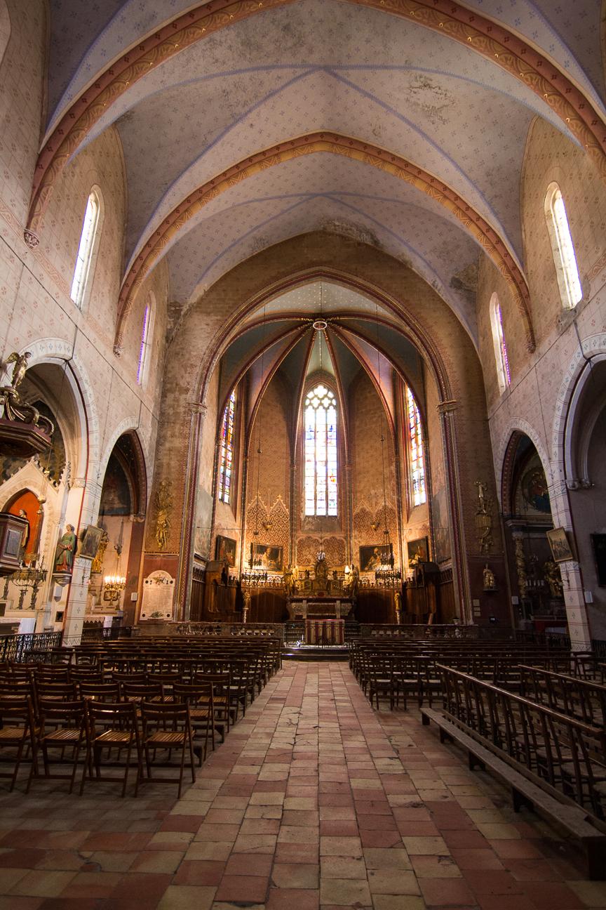 Iglesia del Pueblo de Lagrasse