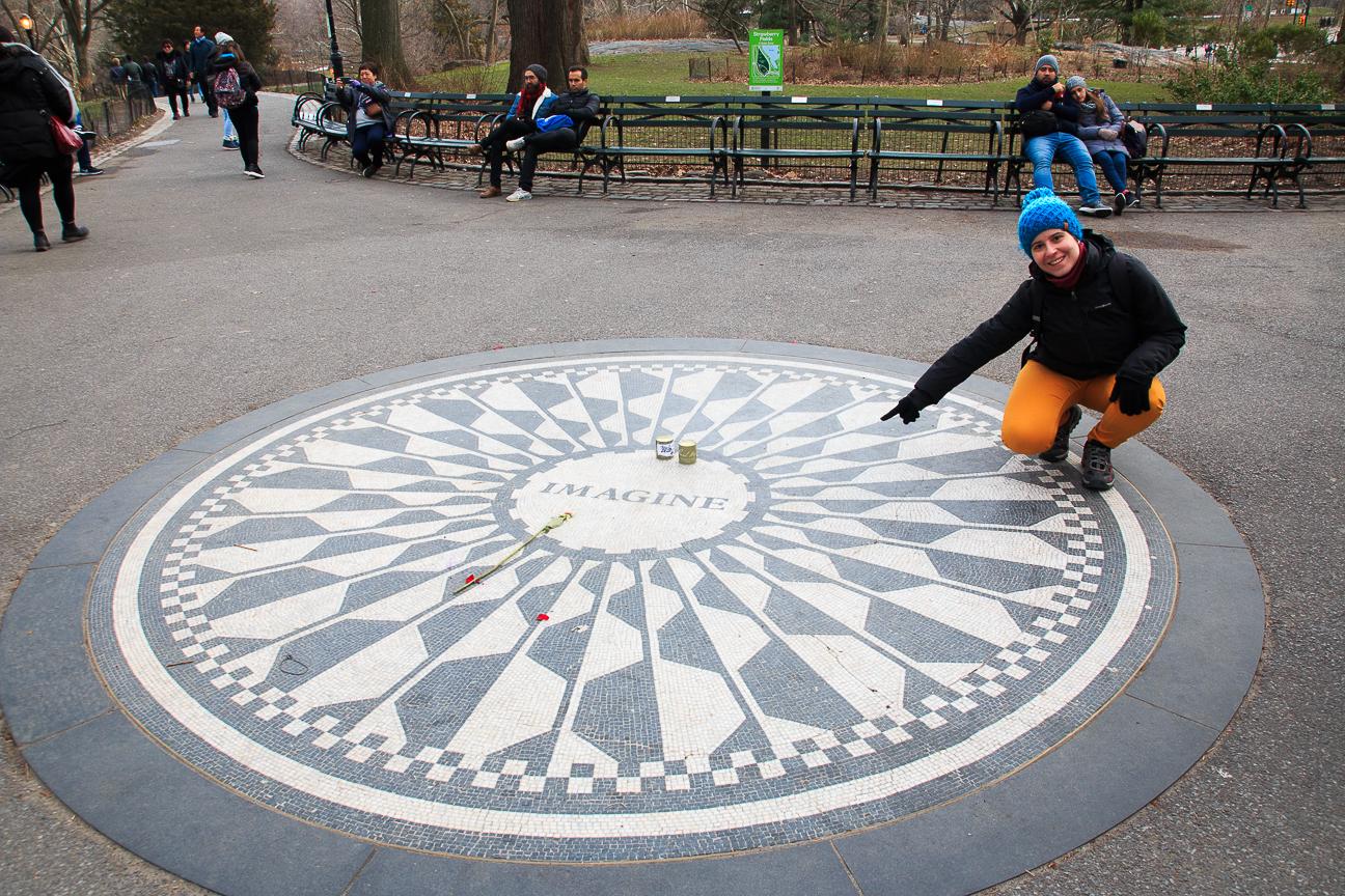 Imagine Central Park New York