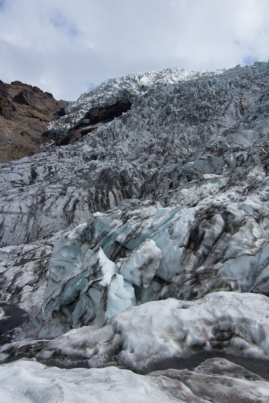 Impresionantes vistas del Vatnajokull