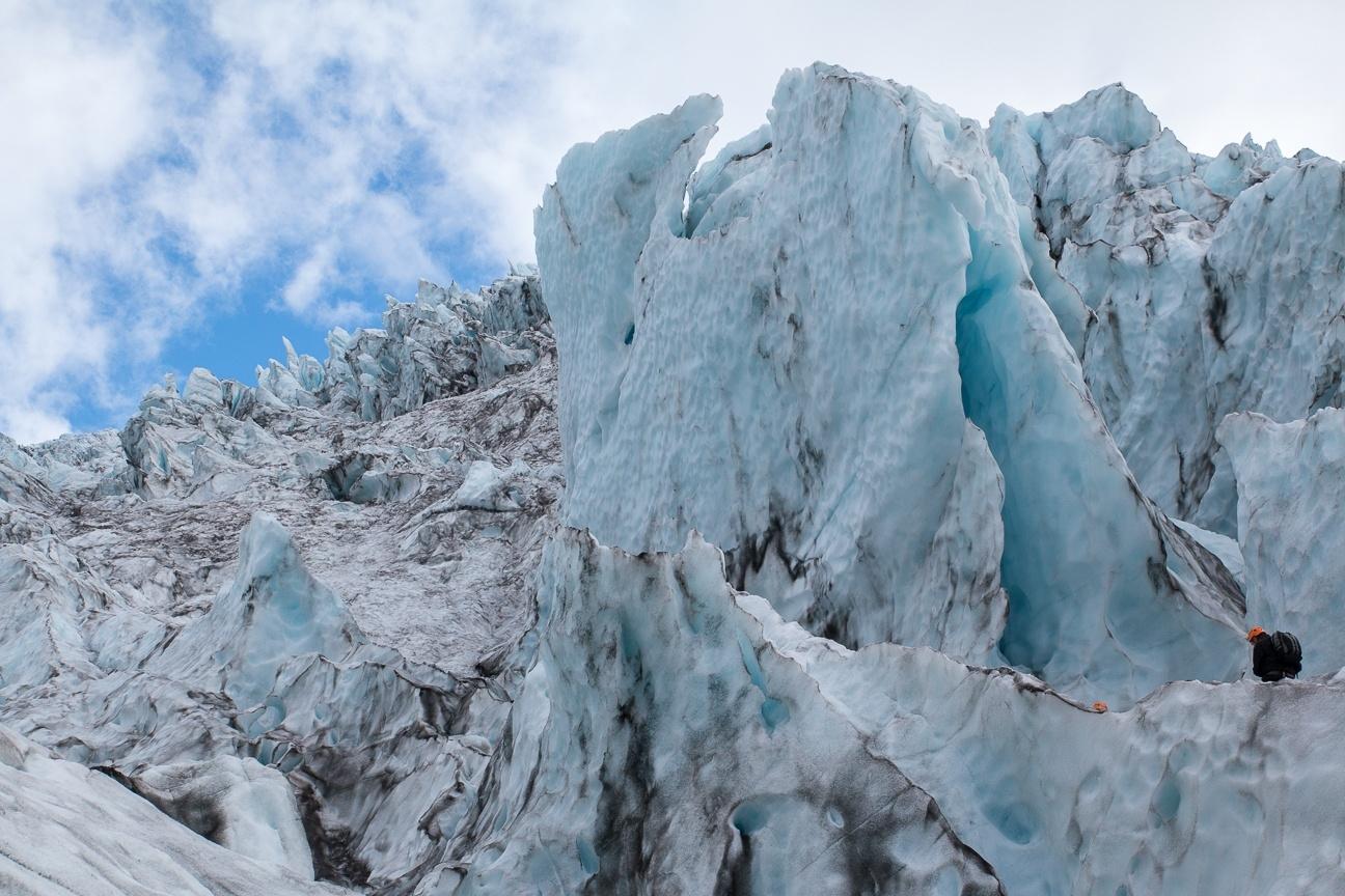 Glaciar de Islandia
