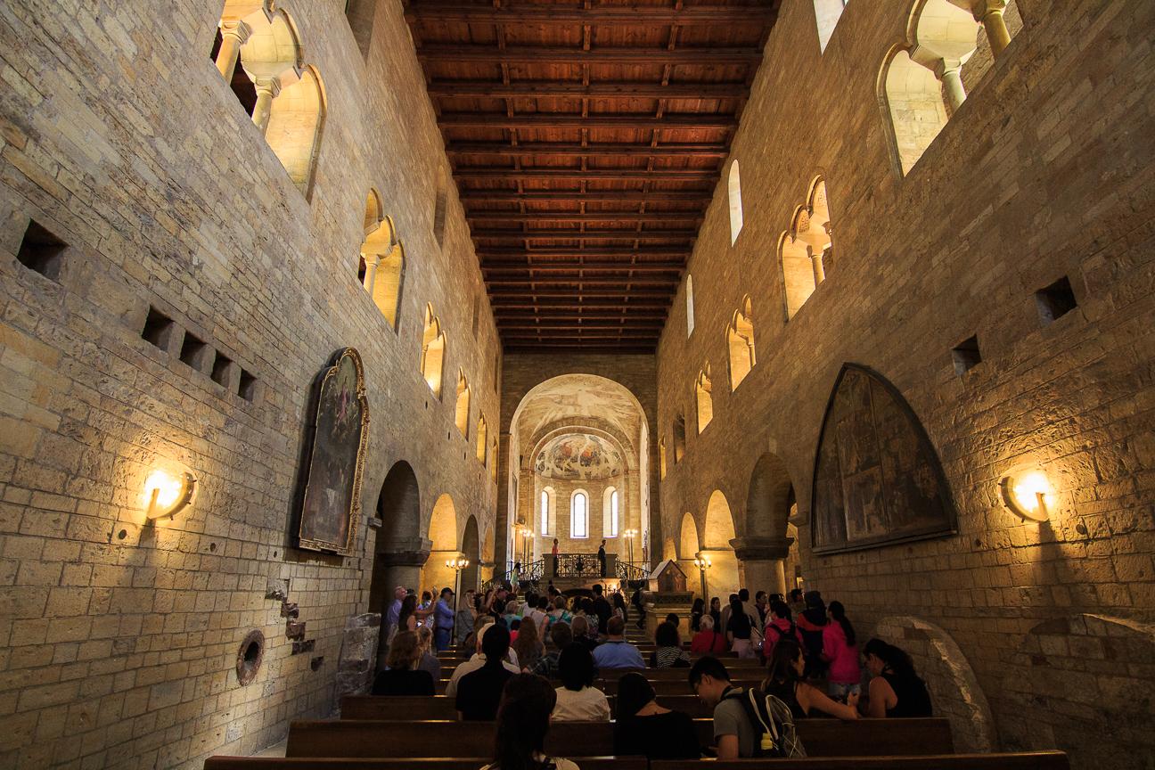 Interior de la Basilica de San Jorge