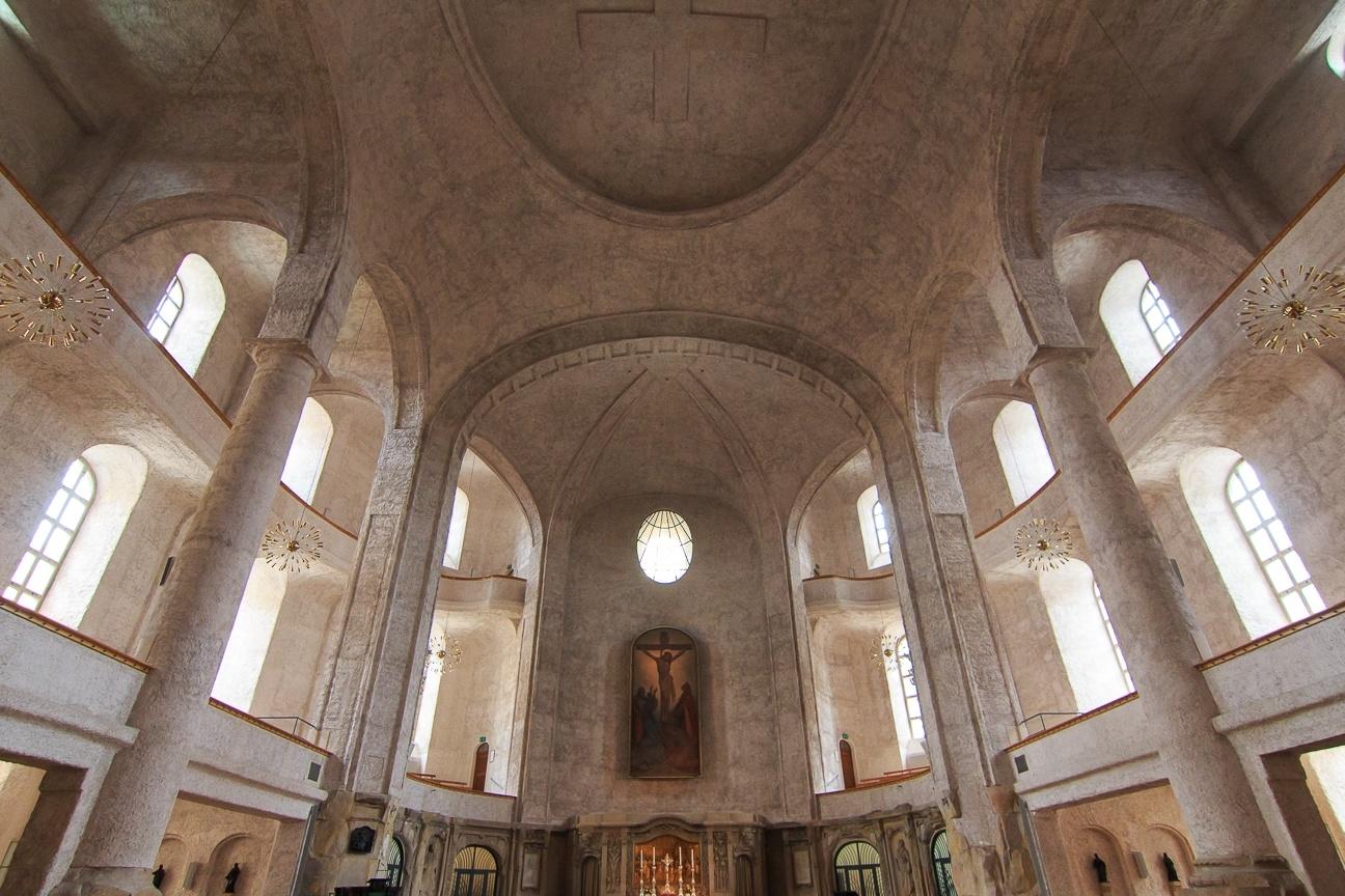Interior de la Kreuzkirche