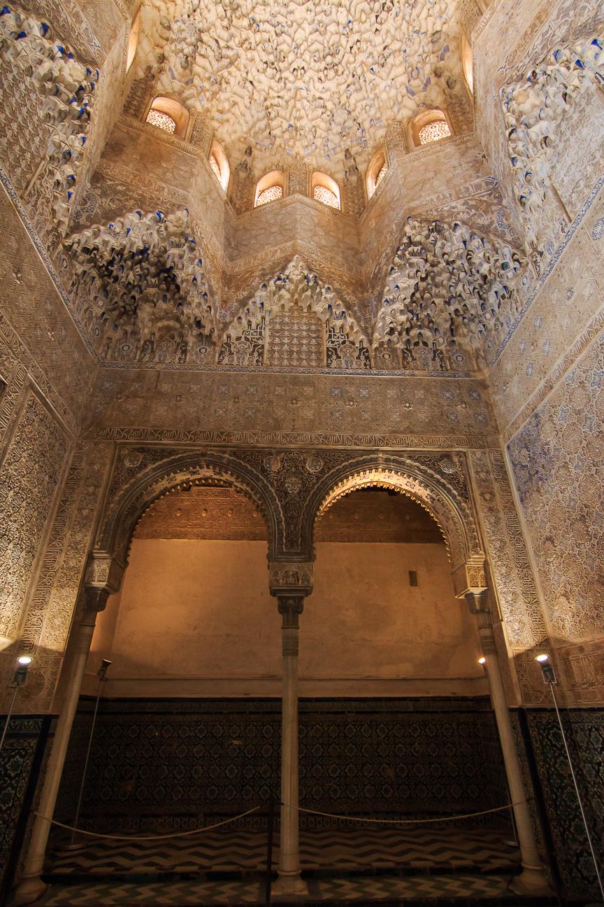 Interior de los palacios nazaries
