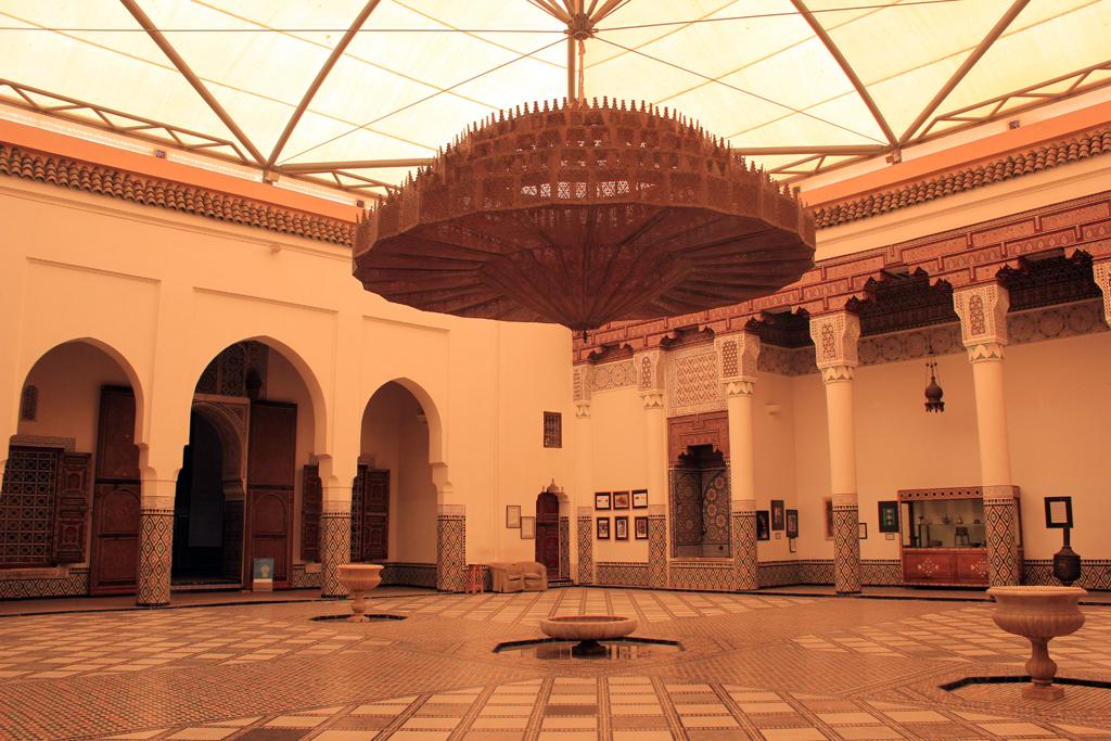 Interior palacio del Museo de Marrakech