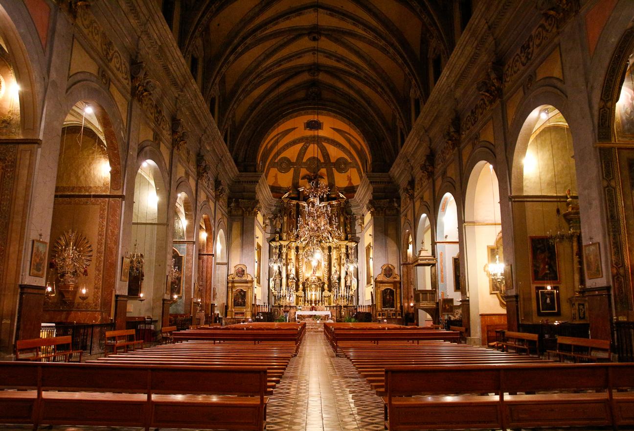 Interior de la Catedral de Soller