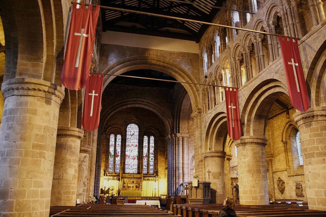 Interior de la Iglesia de Saint John Baptist