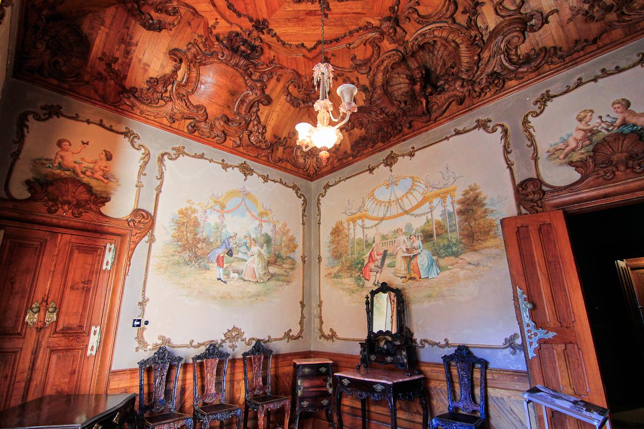 Interior del Palacio de la Quinta da Regaleira